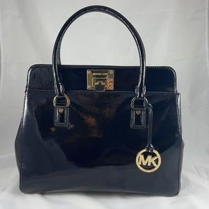 Micheal Kors Astrid Patent Leather Satchel